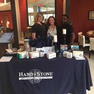 Hand & Stone at the Renaissance Global Discovery Day
