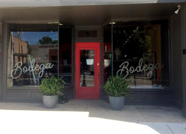 Frosted Window Graphics in Tipp City Ohio for new store front
