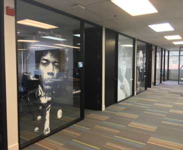 Office Window Graphics - San Francisco Bay Area